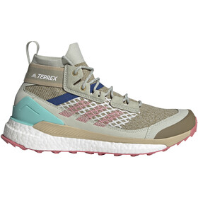 adidas TERREX Free Hiker Blue Hiking Shoes Men, beige/colorato